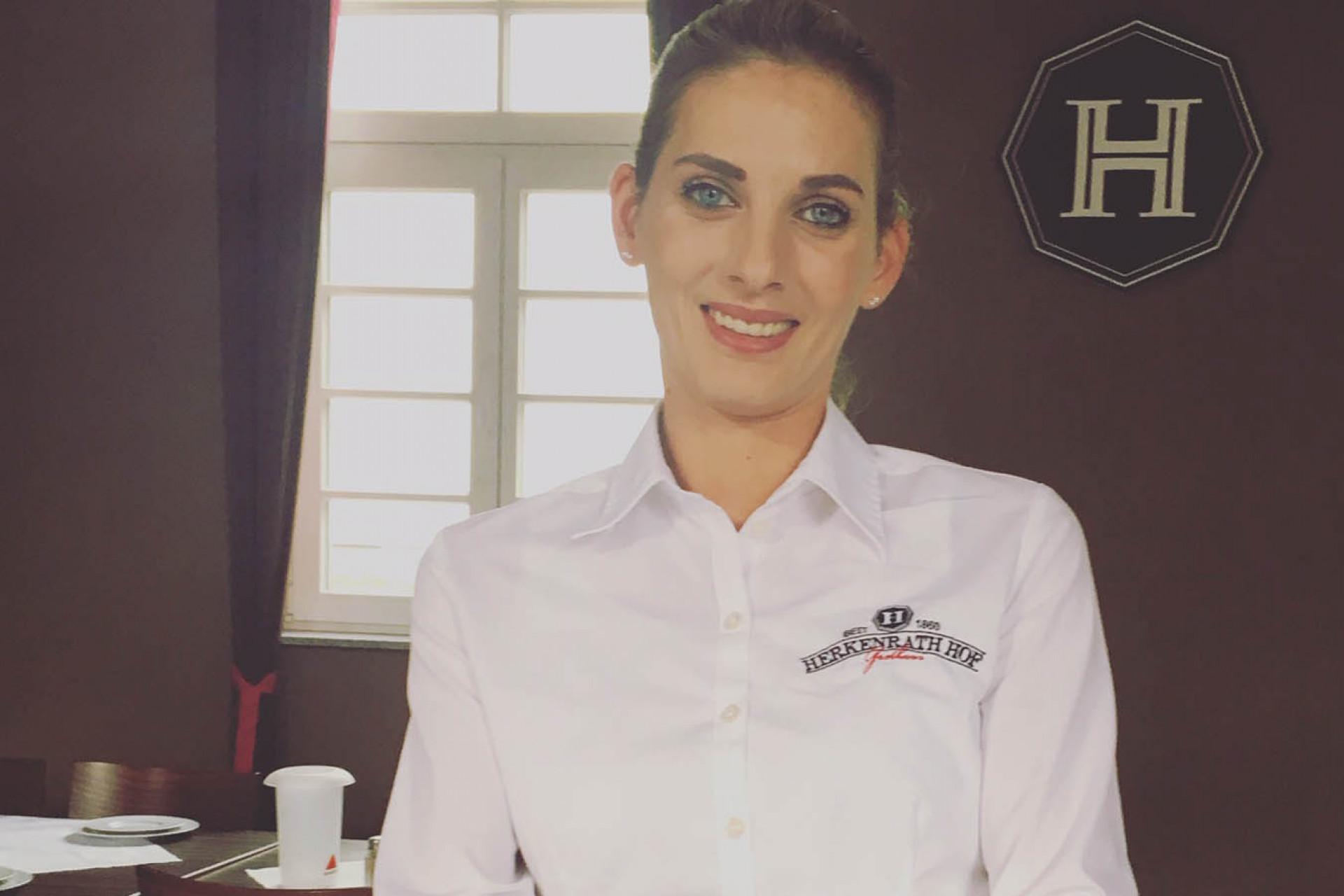 Lia, unsere Service-Chefin